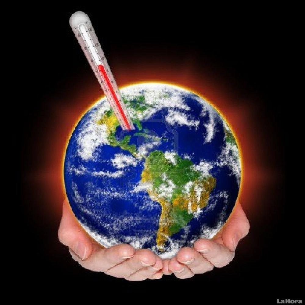 El calentamiento global no tiene que ver con las acciones del hombre. Calentamiento-global